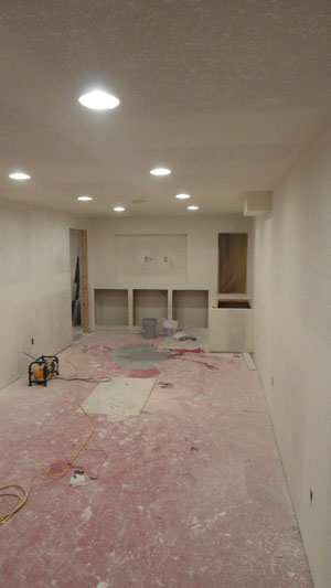 Basement Remodel Project In Fredonia Wi 53021