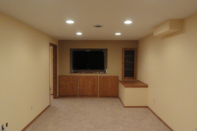 Custom Finished Basement Remodeling For Ozaukee Washington And Inspiration Basement Remodeling Milwaukee