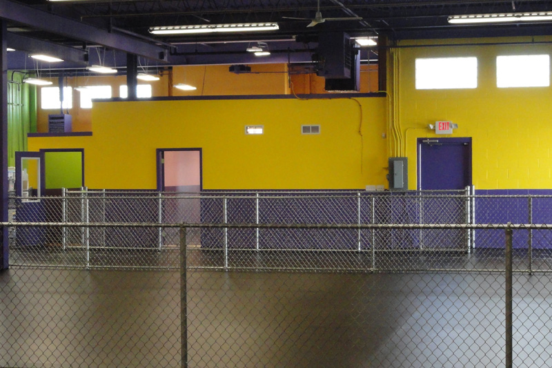 Central Bark Kennel Area